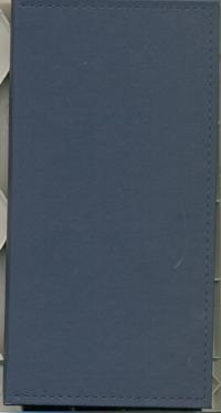 Телефонная книга Арт.Т08-01Г Гоммато Синий 80х160
