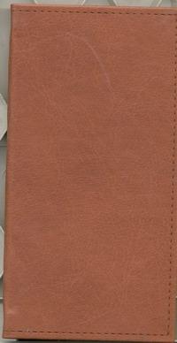 Телефонная книга Арт.Т08-08В Вест Англ.красный 80х160