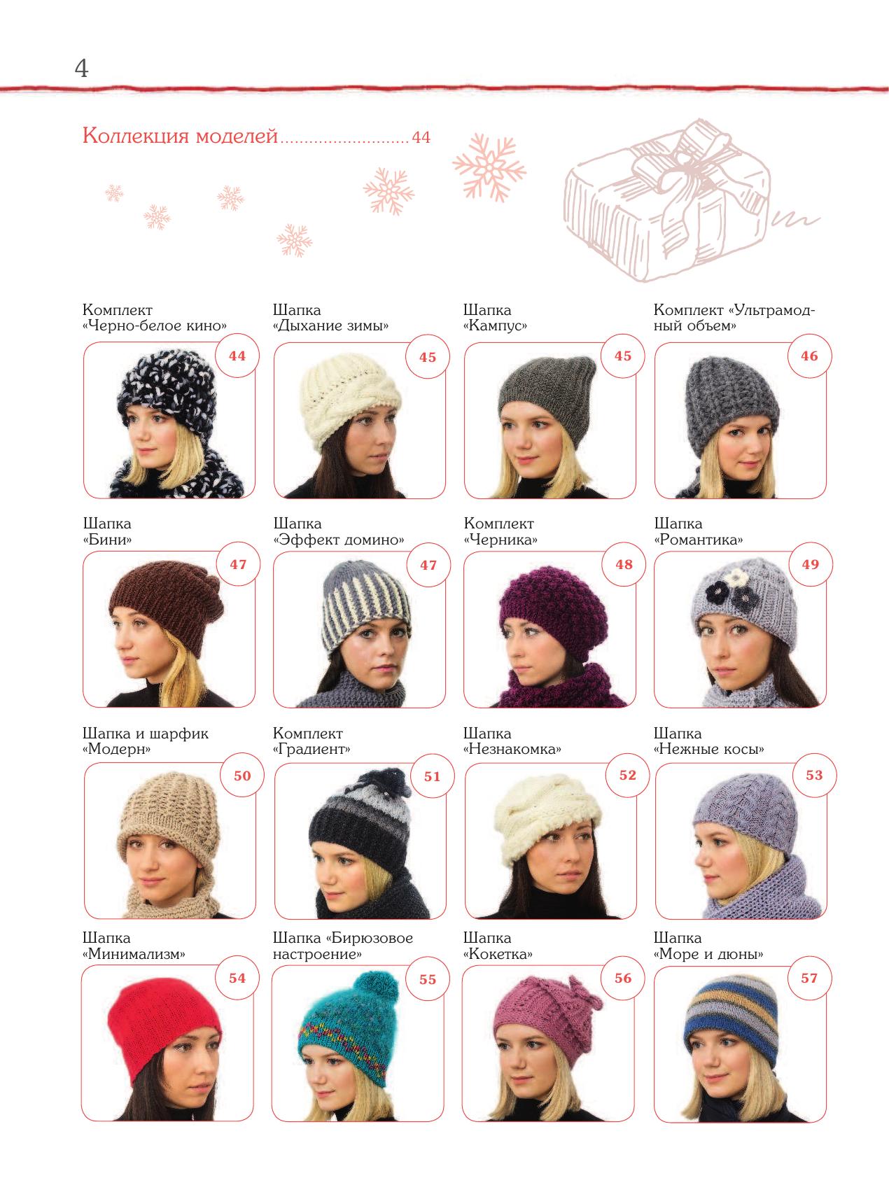Способы вязания шапок