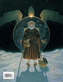 Обложка сзади Последний герой. Сказание о Плоском мире Терри Пратчетт