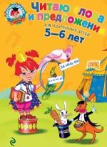 Читаю слова и предложения: для детей 5-6 лет обложка книги