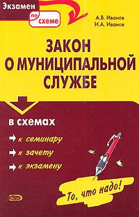 Закон о муниципальной службе в схемах: учебное пособие обложка книги