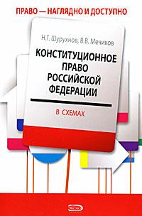 Конституционное право РФ в схемах: учебное пособие для студентов юридических вузов