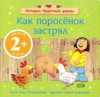 Иолтуховская А.В. - 2+ Как поросенок застрял обложка книги