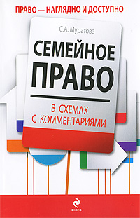 Муратова С.А. - Семейное право в схемах с комментариями: учеб. пособие обложка книги