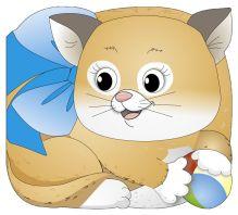 Крошка Котёнок обложка книги