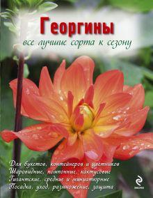 Рубинина А.Е. - Георгины (Вырубка. Цветы в саду и на окне (обложка)) обложка книги