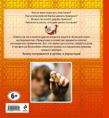 Обложка сзади 10+ Большая книга экспериментов