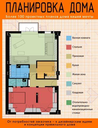 Планировка дома: более 100 проектных планов дома вашей мечты Робинсон П., Робинсон Ф.