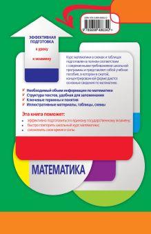 Обложка сзади Математика в схемах и таблицах А.Н. Роганин, И.В. Лысикова
