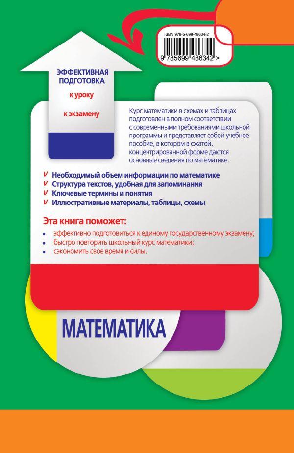 Математика школьный курс в таблицах и схемах фото 339