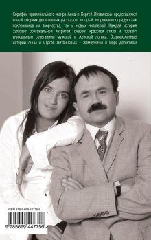 Обложка сзади Золотой песок времени Анна и Сергей Литвиновы