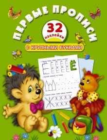 Дмитриева В.Г. - Первые прописи с крупными буквами обложка книги