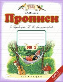 Илюхина В.А. - Прописи к «Букварю». 1 класс. Тетрадь № 1 обложка книги