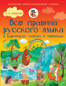 Матвеев С.А. - Все правила русского языка в картинках, схемах и таблицах обложка книги