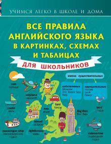 Матвеев С.А. - Все правила английского языка в картинках, схемах и таблицах для школьников обложка книги