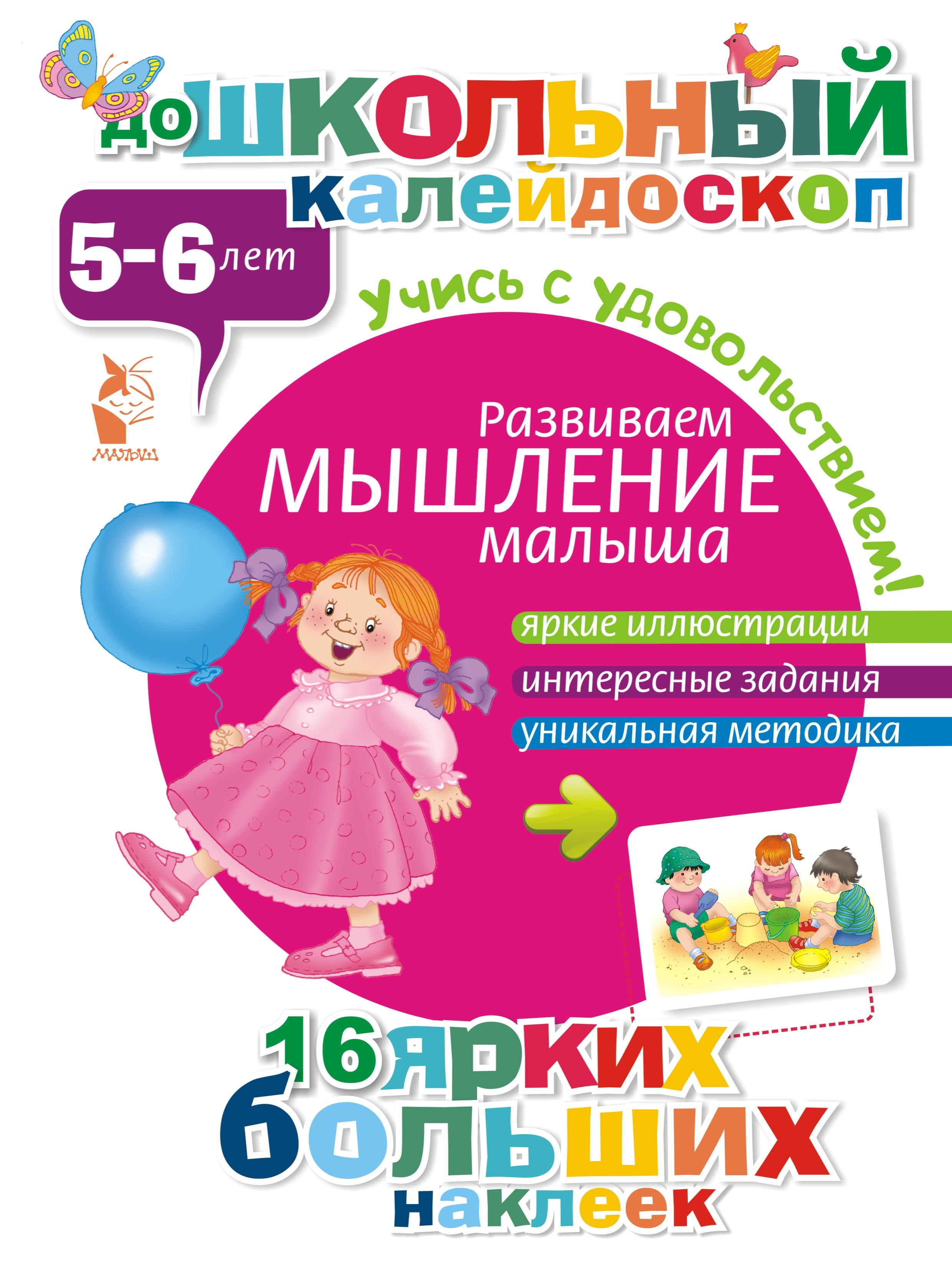 Развиваем мышление малыша (5-6 лет) ( .  )