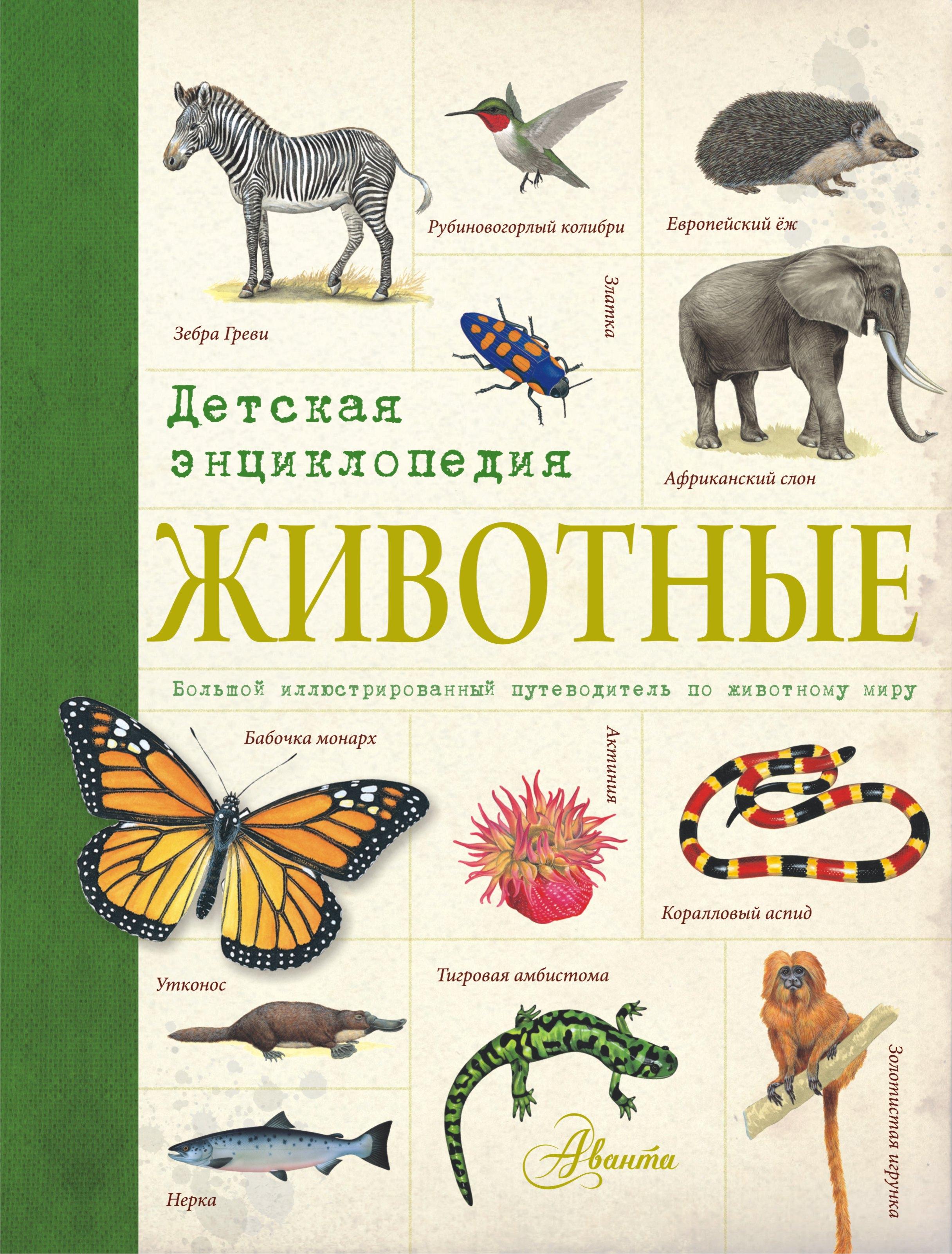 Животные. Детская энциклопедия