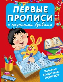 Арянова Н.Л. - Первые прописи с крупными буквами обложка книги