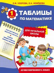 Узорова О.В. - Таблицы по математике для начальной школы обложка книги