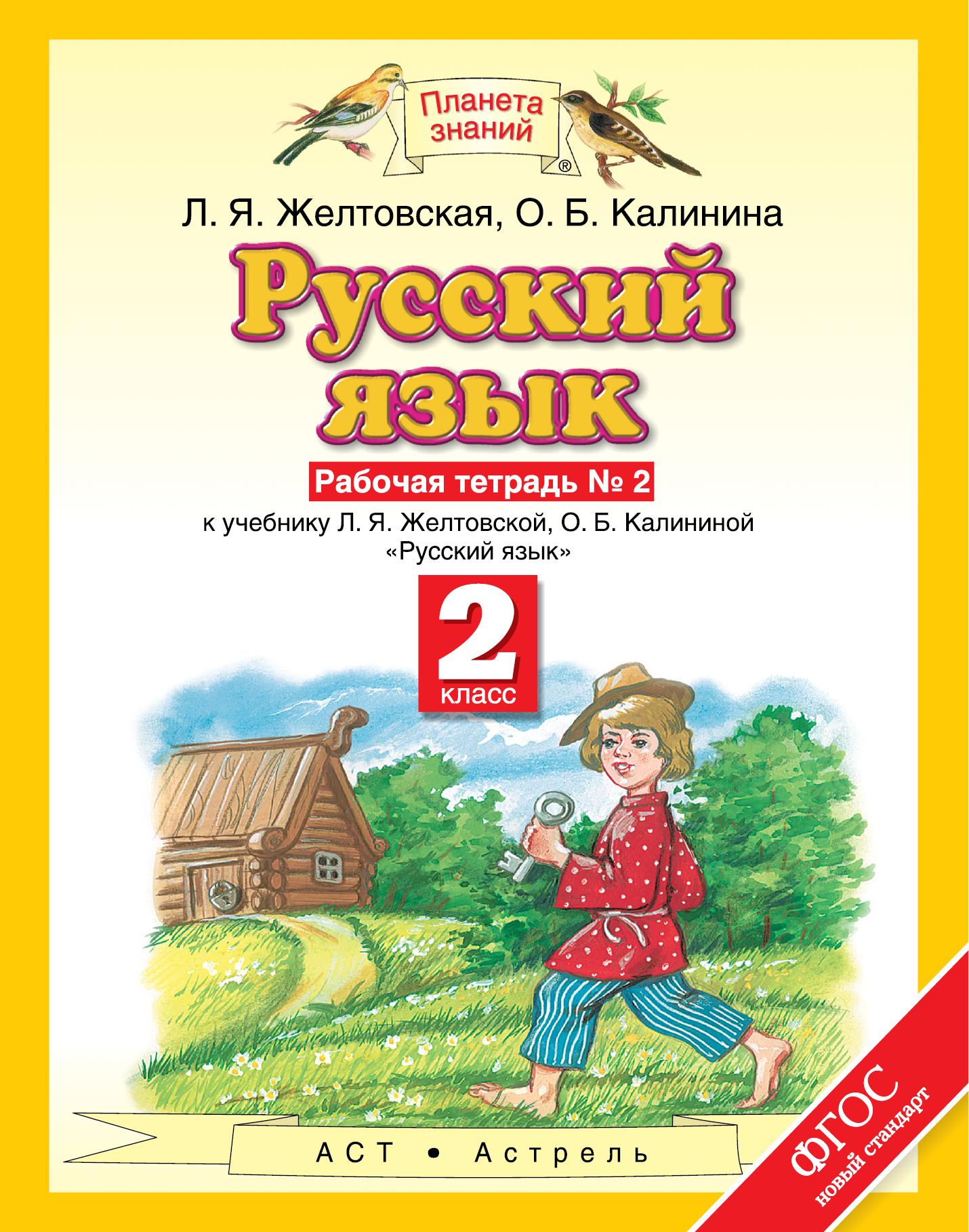 Русский язык. 2 класс. Рабочая тетрадь № 2