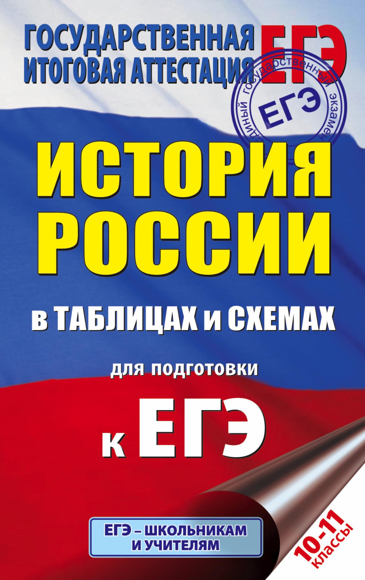 ЕГЭ История России в таблицах. 10-11 классы