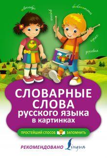 . - Словарные слова русского языка в картинках обложка книги