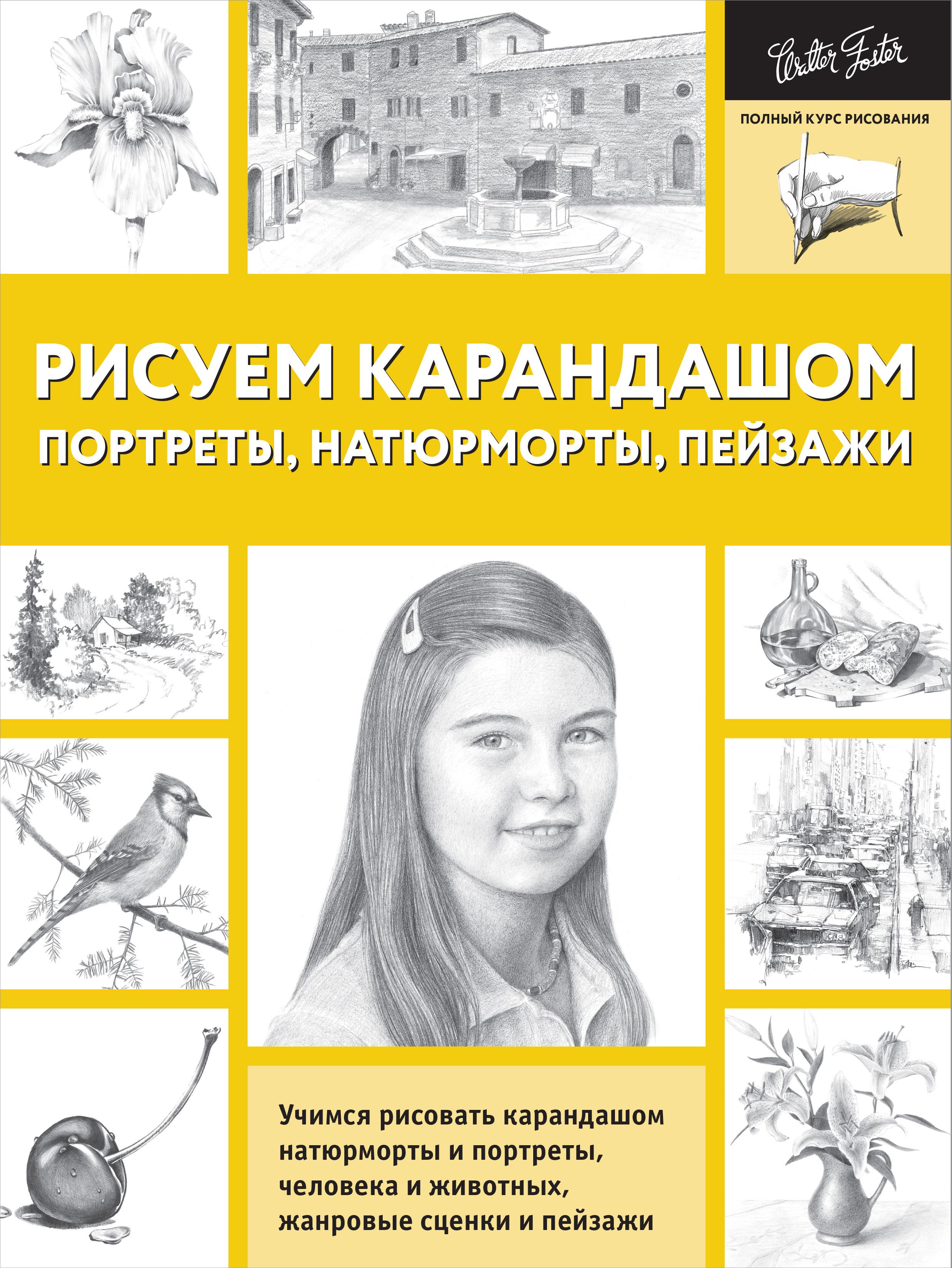 Рисуем карандашом портреты, натюрморты, пейзажи ( .  )