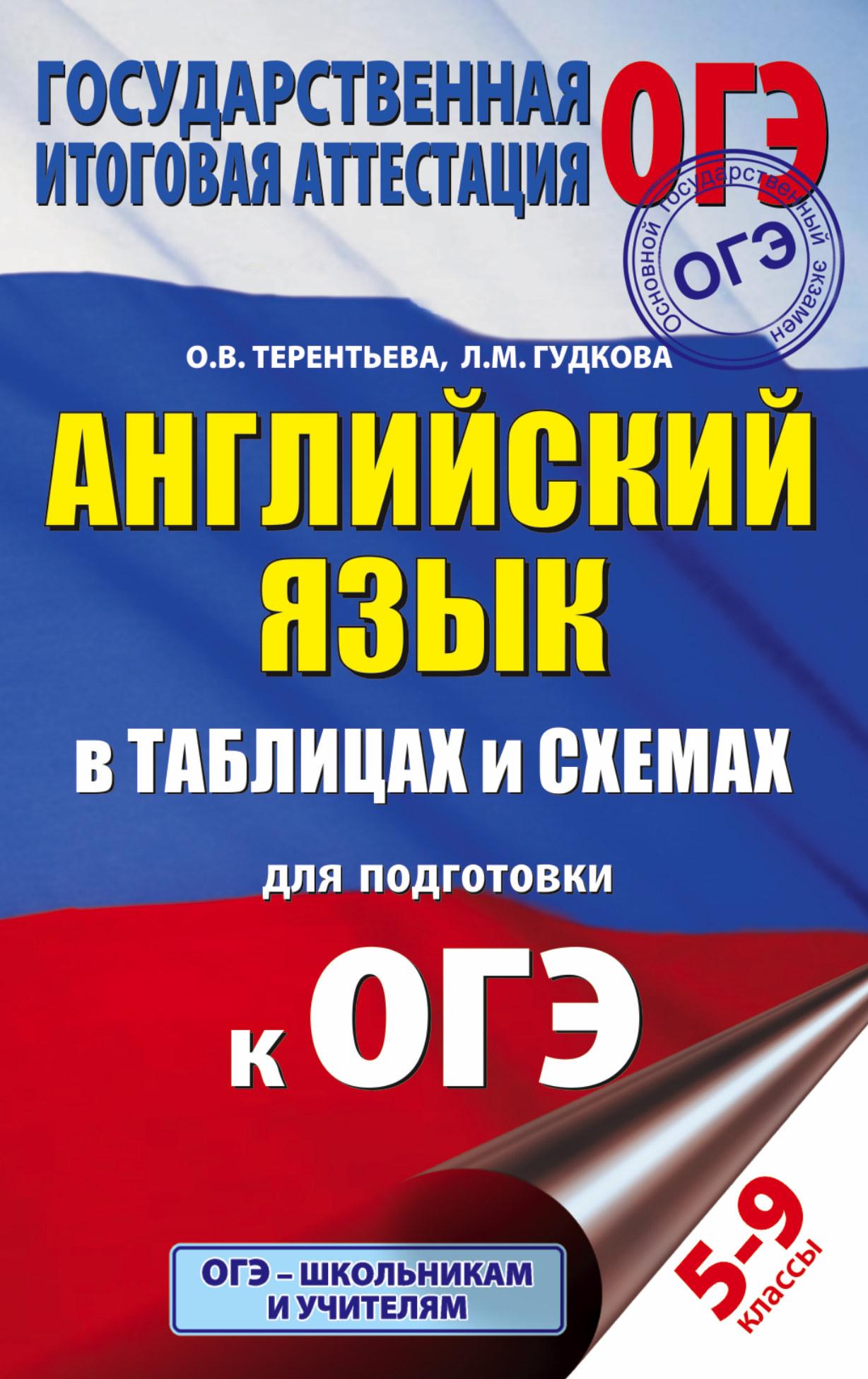 Английский язык в таблицах и схемах для подготовки к ОГЭ ( Терентьева О.В., Гудкова Л.М.  )