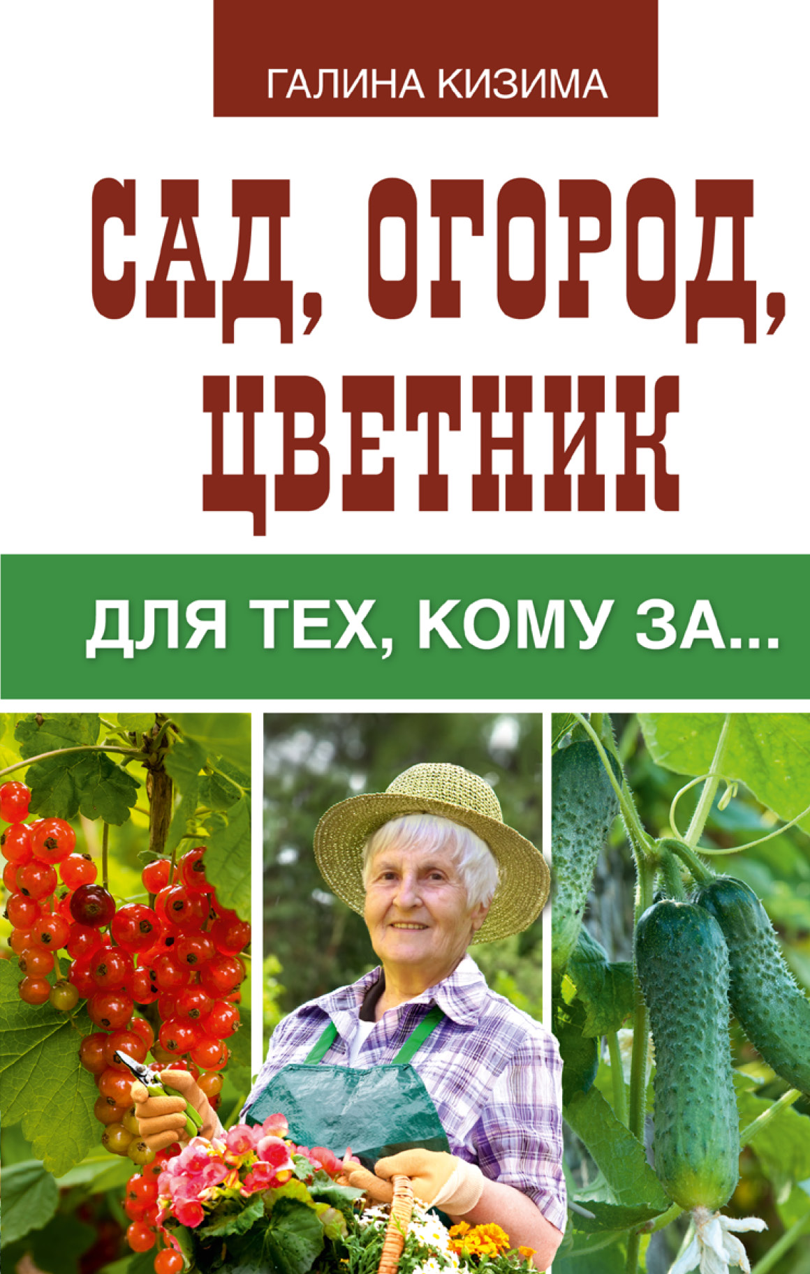 Кизима Г.А. Сад, огород, цветник для тех, кому за… butterfly 250 pcs all different used postage stamps in good condition for collecting wholesale