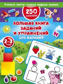 Большая книга заданий и упражнений для малышей 2-3 лет. ДМ обложка книги