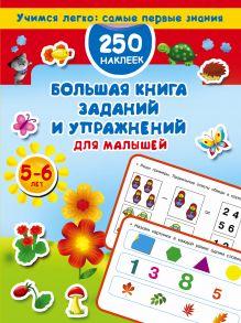 Большая книга заданий и упражнений для малышей 5-6 лет. ДМ обложка книги
