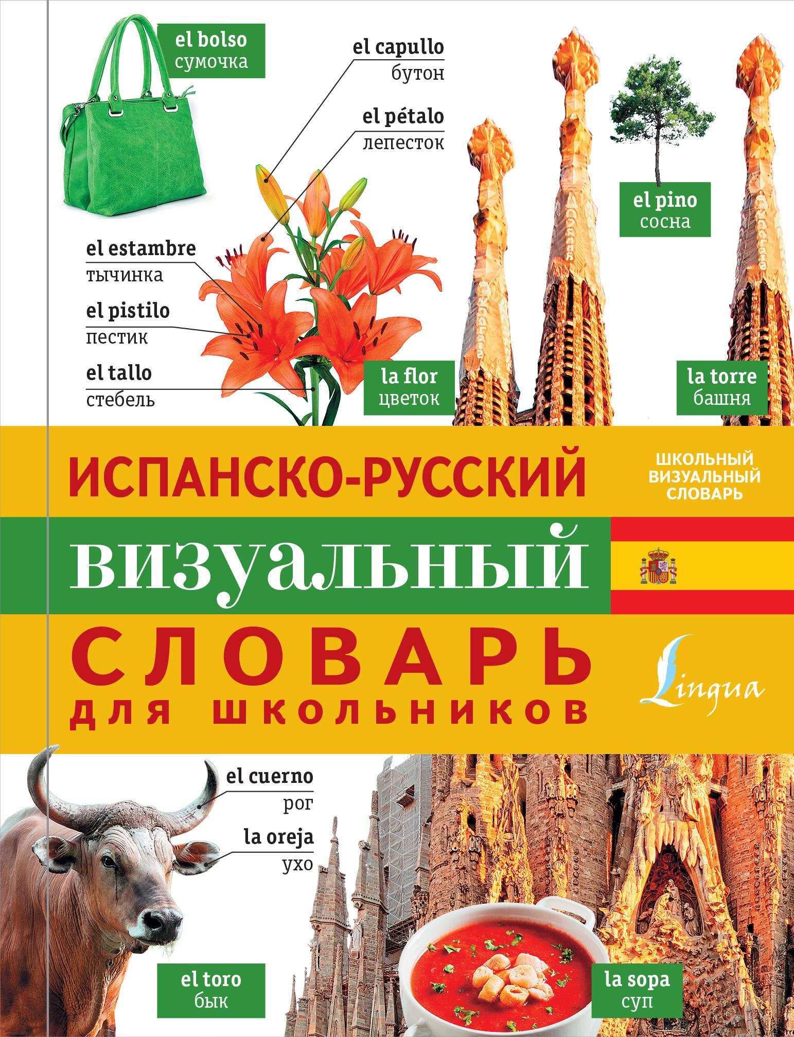 Испанско-русский визуальный словарь для школьников ( .  )