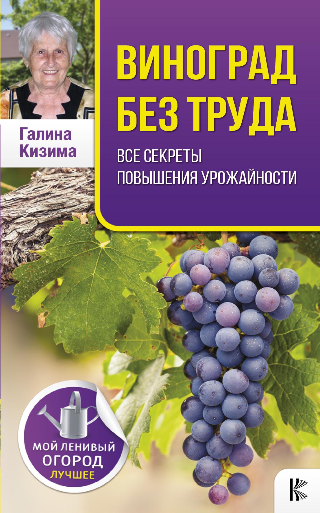 Виноград без труда. Все секреты повышения урожайности ( Кизима Г.А.  )