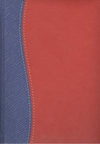- !Ежедневник н/дат.Арт.Т.ДН11-03А.Алабама Красно-синий 118х164 обложка книги