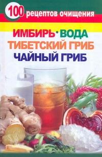 Янис В - 100 рецептов очищения. Имбирь, вода, тибетский гриб, чайный гриб обложка книги