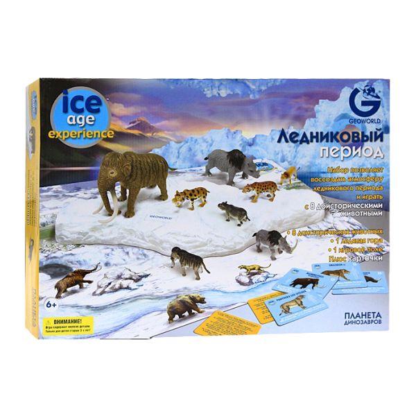 G. Игровой набор с полем, Ледниковый период, 8 малых моделей животных CL170KR