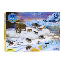 - G. Игровой набор с полем, Ледниковый период, 8 малых моделей животных CL170KR обложка книги