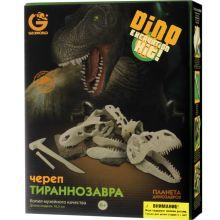 - G. Ископаемые в гипсе, набор археолога, Сборная модель  Череп Тираннозавра, коробка с окном ED236KR обложка книги