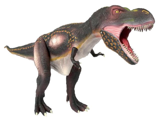 G. Модель подвижная Тираннозавр, серая CL220KR от book24.ru