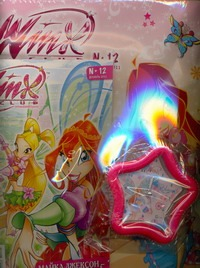 - Winx.Журнал Волшеб.приключение№12/2011 обложка книги