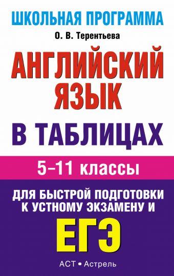 ЕГЭ Английский язык. в таблицах. 5-11 классы Терентьева О.В.