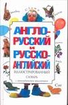 - Англо-русский и русско-английский иллюстрированный словарь обложка книги
