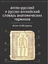 Англо-русский и русско-английский словарь анатомических терминов