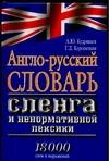 Англо-русский словарь сленга и ненормативной лексики обложка книги