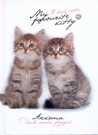 Попова Н. - Анкета для моих друзей(коты, белая) обложка книги