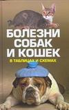 Болезни собак и кошек в таблицах и схемах обложка книги