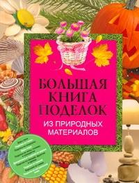Чебаева С.О. Большая книга поделок из природных материалов