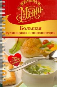 Ройтенберг И.Г. - Большая кулинарная энциклопедия обложка книги