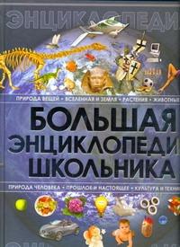 Большая энциклопедия школьника обложка книги